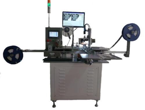 載帶包裝機CCD平面度檢測設備