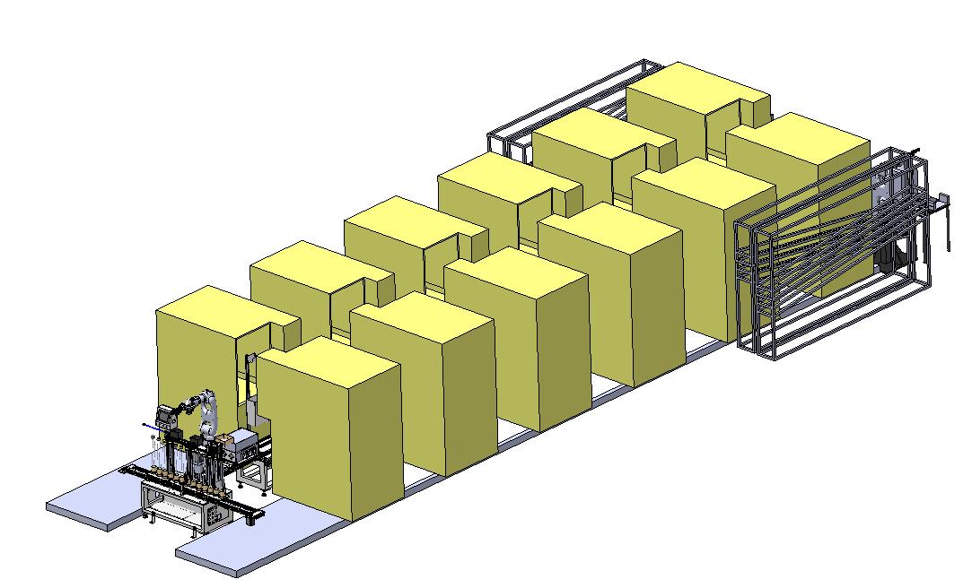 工业4.0之珠宝行业机器人全自动生产线